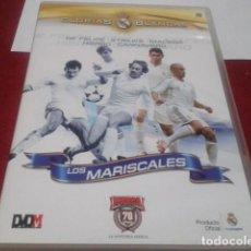Coleccionismo deportivo: DVD Nº 5 REAL MADRID GLORIAS BLANCAS LOS MARISCALES. Lote 203947645