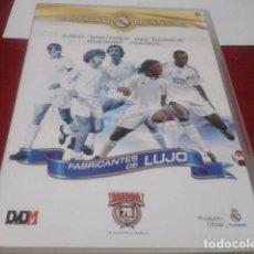 Coleccionismo deportivo: DVD Nº 6 REAL MADRID GLORIAS BLANCAS FABRICANTES DE LUJO. Lote 203947757