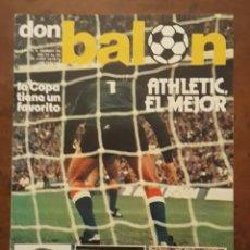 Coleccionismo deportivo: REVISTA DON BALON N° 89. JUNIO DE 1977. Lote 204084753