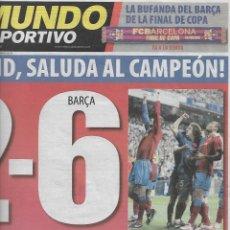 Coleccionismo deportivo: BARÇA: HISTÓRICO 2-6 EN EL BERNABEU. 3 DE MAYO DE 2009. Lote 204089612