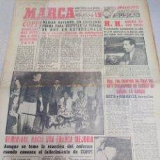 Coleccionismo deportivo: MARCA-6/1/60,H.HERRERA SIGUE EN SUS TRECE,MOTOCICLISMO ESPAÑOL TRIUNFA EN URUGUAY PARTE TR. Lote 204128008