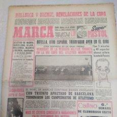 Collectionnisme sportif: MARCA-23/5/60,MALLORCA Y ORENSE REVELACIÓNES DE LA COPA,CICLISMO BOTELLA OTRO ESPAÑOL TRIU. Lote 204140207