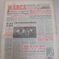 Coleccionismo deportivo: MARCA-13/1/60,EL EQUIPO ESPAÑOL DE BOXEO A GLASGOW, FECHAS PARA EL CAMPEONATO DEL MUNDO DE HOCKEY PA. Lote 204281875
