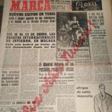 Coleccionismo deportivo: MARCA-1/1/60,FELIZ AÑO NUEVO,EL REAL POLO DE BARCELONA JUGARÁ SU TORNEO DE REYES DE HOCKEY HIERBA,SA. Lote 204324375