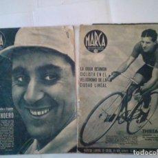 Coleccionismo deportivo: MARCA - NUMEROS 178 Y 181 - 7 DE JULIO Y 28 DE JULIO DE 1942 - USADOS - GORBAUD. Lote 204511591