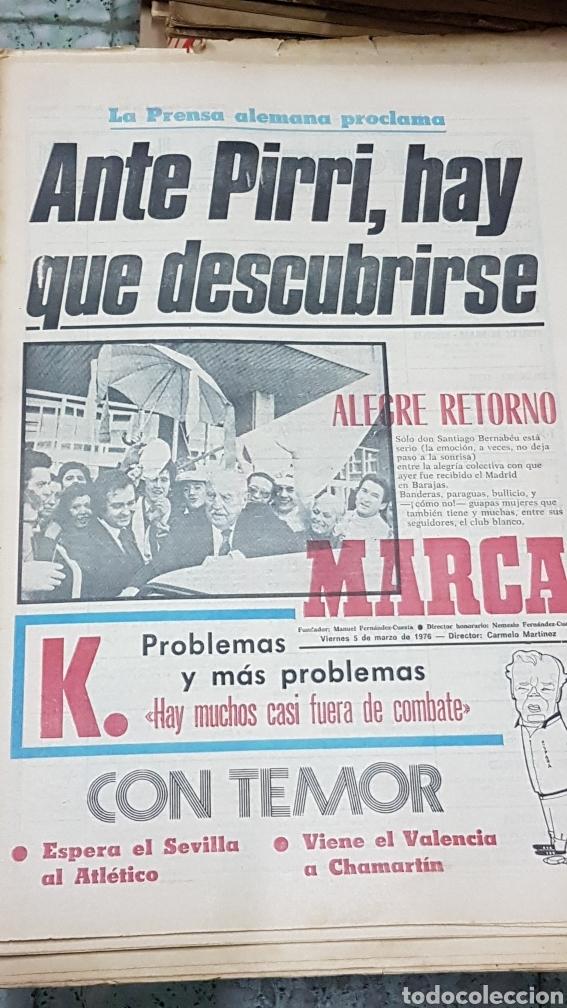 DIARIO MARCA 5 DE MARZO 1976 (Coleccionismo Deportivo - Revistas y Periódicos - Marca)