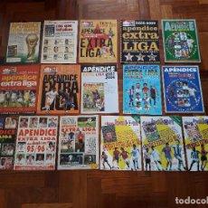 Coleccionismo deportivo: LOTE REVISTAS APENDICE EXTRA LIGA DON BALÓN FUTBOL NUEVAS. Lote 204679898
