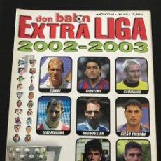 Collectionnisme sportif: FÚTBOL DON BALON 62 - EXTRA LIGA 2002-2003 - AS MARCA ÁLBUM CROMO SPORT GUÍA. Lote 204693490