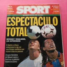 Coleccionismo deportivo: REVISTA EXTRA DIARIO SPORT GUIA LIGA 2003-2004 - SUPLEMENTO ESPECIAL TEMPORADA FUTBOL 03/04. Lote 204996362