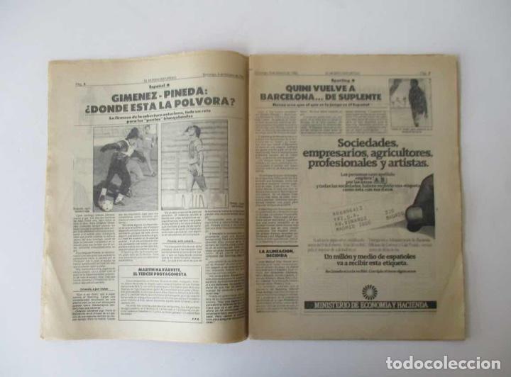 Coleccionismo deportivo: EL MUNDO DEPORTIVO AÑO 1985 - QUINI VUELVE A BARCELONA, GRAN GALA DEPORTIVA MUNDO DEPORTIVO... - Foto 2 - 205010531