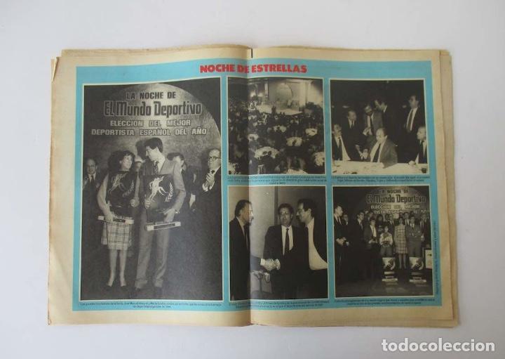 Coleccionismo deportivo: EL MUNDO DEPORTIVO AÑO 1985 - QUINI VUELVE A BARCELONA, GRAN GALA DEPORTIVA MUNDO DEPORTIVO... - Foto 4 - 205010531