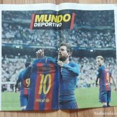 Colecionismo desportivo: SUPLEMENTO DIARIO MUNDO DEPORTIVO LEO MESSI 500 GOLES CON EL BARÇA. F.C BARCELONA. ABRIL 2017.. Lote 205317550
