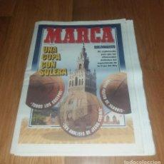 Coleccionismo deportivo: GUÍA MARCA. COPA DEL REY ACB MARZO, UNA COPA CON SOLERA 1994 (SABONIS, CON PÓSTER). Lote 205457326