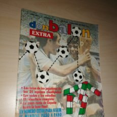 Coleccionismo deportivo: REVISTA DON BALÓN - EXTRA, ITALIA 90. Lote 205464196