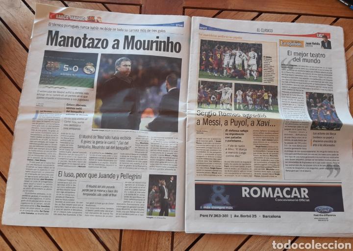 Coleccionismo deportivo: Periódico diario deportivo Sport N°11207 Manotazo a Mourinho - Foto 2 - 205516581