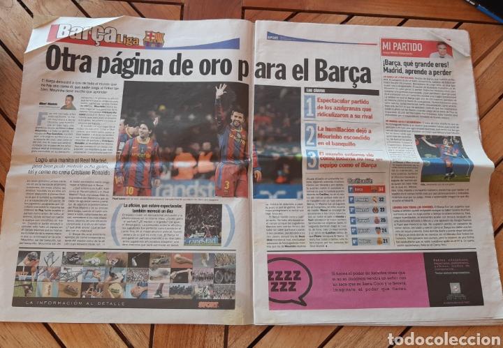 Coleccionismo deportivo: Periódico diario deportivo Sport N°11207 Manotazo a Mourinho - Foto 3 - 205516581