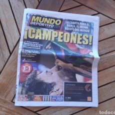 Coleccionismo deportivo: PERIÓDICO MUNDO DEPORTIVO N°28766 29 DE MAYO DE 2011 BARSA CAMPEÓN DE EUROPA BARCA CHAMPIONS. Lote 205519925