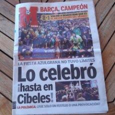 Coleccionismo deportivo: DIARIO MARCA 18 DE MAYO DE 2006. BARCELONA BARCA GANA LA CHAMPIONS. Lote 205528332