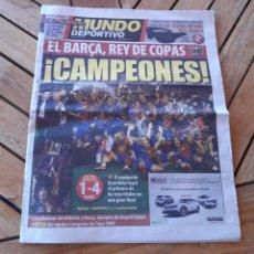 Coleccionismo deportivo: MUNDO DEPORTIVO JUEVES 14 DE MAYO DE 2009 N°28027. EL BARSA REY DE COPAS. Lote 205537091