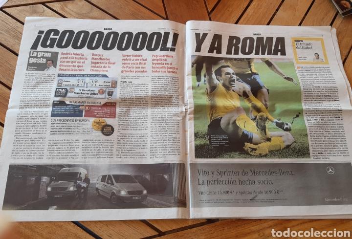 Coleccionismo deportivo: Mundo Deportivo 7 de mayo de 2009. Champions Barsa. N° 28020 - Foto 2 - 205540043