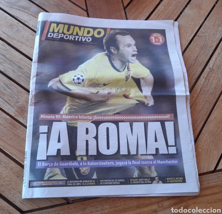 MUNDO DEPORTIVO 7 DE MAYO DE 2009. CHAMPIONS BARSA. N° 28020 (Coleccionismo Deportivo - Revistas y Periódicos - Mundo Deportivo)