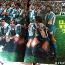 Coleccionismo deportivo: AS COLOR 451 POSTER R.C DEPORTIVO ESPAÑOL 1979-80. Lote 205554731