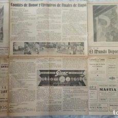 Coleccionismo deportivo: MUNDO DEPORTIVO REPORTAJE XXXI VUELTA CICLISTA A CATALUÑA DE 1951 ERA EL DIARIO OFICIAL. Lote 205596231