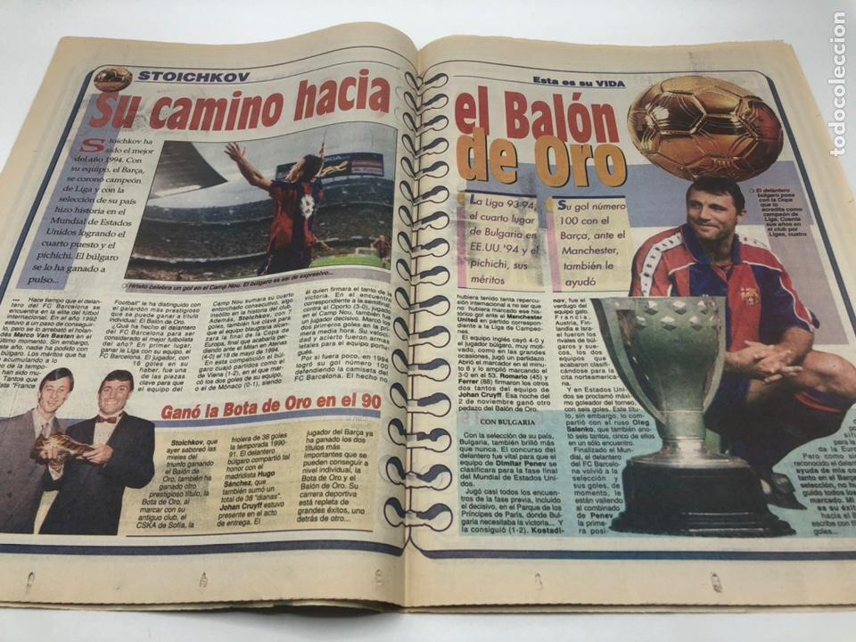 Coleccionismo deportivo: SPORT HRISTO STOICHKOV BALON DE ORO 20 DICIEMBRE 1994 FUTBOL FC BARCELONA BARÇA - Foto 3 - 205708853