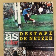 Coleccionismo deportivo: REVISTA AS COLOR Nº 199 DEL 11 DE MARZO DE 1975.. Lote 205750153
