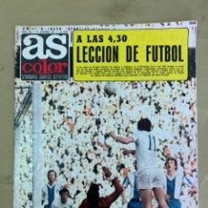 Coleccionismo deportivo: REVISTA AS COLOR Nº 180 DEL 29 DE OCTUBRE DE 1974.. Lote 205750361