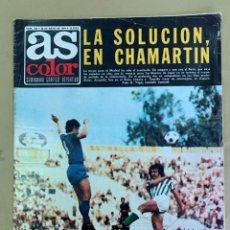 Coleccionismo deportivo: REVISTA AS COLOR Nº 158 DEL 28 DE MAYO DE 1974.. Lote 205750482