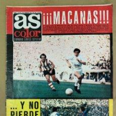 Coleccionismo deportivo: REVISTA AS COLOR Nº 142 DEL 5 DE FEBRERO DE 1974.. Lote 205750792