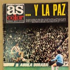 Coleccionismo deportivo: REVISTA AS COLOR Nº 197 DEL 25 DE FEBRERO DE 1975.. Lote 205750855