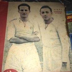 Coleccionismo deportivo: ANTIGUO SUPLEMENTO GRÁFICO DEPORTES MARCA 111 1945. Lote 205774137