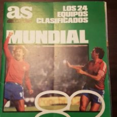 Coleccionismo deportivo: REVISTA AS COLOR EXTRA MUNDIAL 82. Lote 205802762