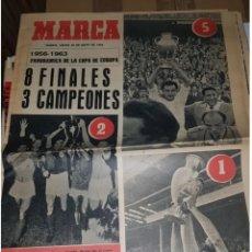 Coleccionismo deportivo: PANORÁMICA DE LA COPA DE EUROPA 1956- 1963 .DIARIO MARCA. Lote 205823361
