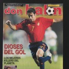 Coleccionismo deportivo: FÚTBOL DON BALÓN 1433 - POSTER MADRID - ESPAÑA - RAÚL - VALENCIA - V. NISTELROOY - RECREATIVO - AS. Lote 205851411