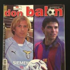 Coleccionismo deportivo: FÚTBOL DON BALÓN 1345 - POSTER RAÚL - MENDIETA - COPA AMÉRICA - SANCHÍS MADRID - VILANOVA - GELTRÚ. Lote 206145142