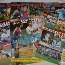 Coleccionismo deportivo: 8 EJEMPLARES DON BALÓN / EDIT. GRADESA – NÚM. 892, 893, 896, 1098, 1126, 1241, 1368 Y 1389 - LOTE 05. Lote 206153621