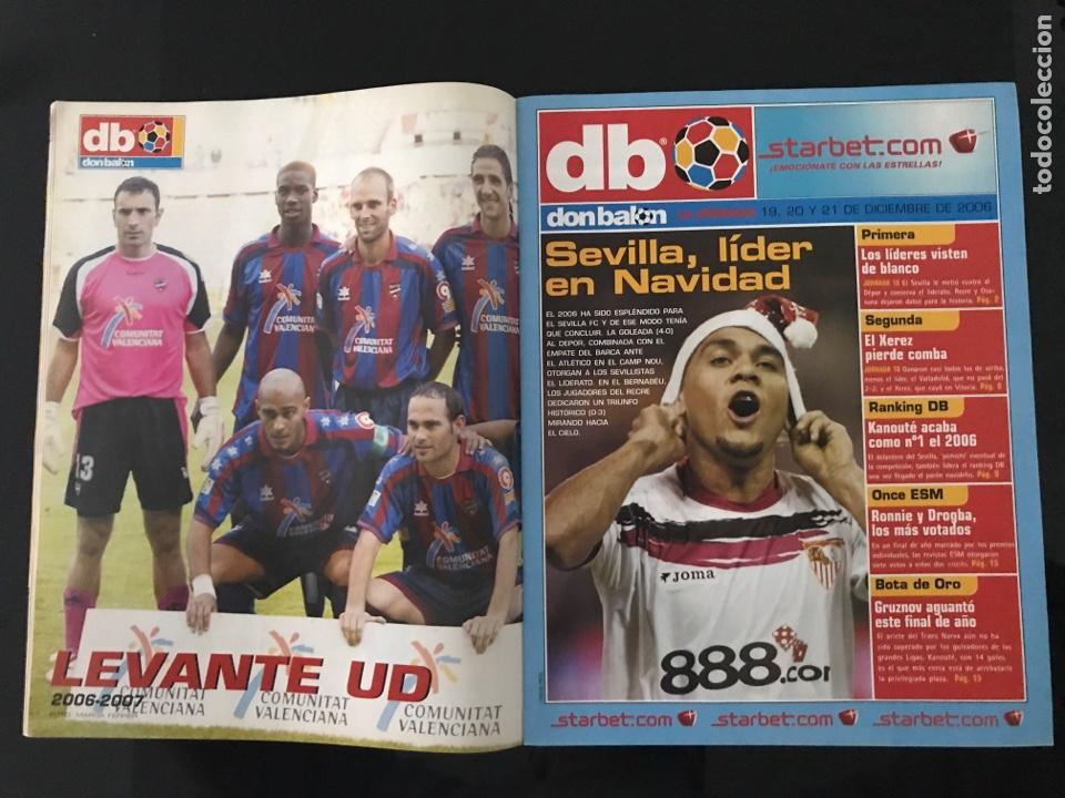 Coleccionismo deportivo: Fútbol don balón 1628 - Poster Levante - Villa - Barça - Atlético - Pato - Gattuso - Manresa - as - Foto 2 - 206161778