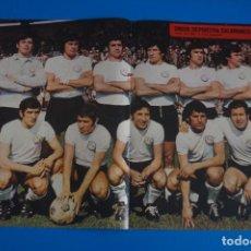 Coleccionismo deportivo: POSTER DE FUTBOL DEL U.D. SALAMANCA DE AS COLOR. Lote 206166141