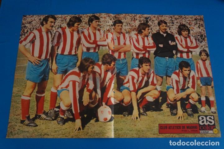 POSTER DE FUTBOL DEL ATLETICO DE MADRID DE AS COLOR (Coleccionismo Deportivo - Revistas y Periódicos - As)
