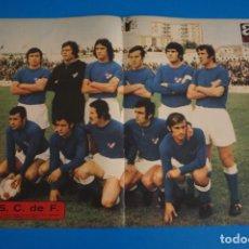 Coleccionismo deportivo: POSTER DE FUTBOL DEL LINARES C.F. DE AS COLOR. Lote 206167661