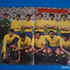 Colecionismo desportivo: POSTER DE FUTBOL DE LA U.D. LAS PALMAS DE AS COLOR. Lote 206167858
