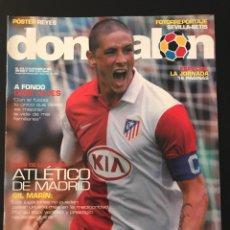Coleccionismo deportivo: FÚTBOL DON BALÓN 1614 - POSTER REYES - ATLÉTICO - ALVES - MESSI - MARCELO - M. UNITED - SEVILLA. Lote 206170463