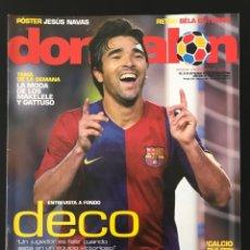 Coleccionismo deportivo: FÚTBOL DON BALÓN 1615 - POSTER NAVAS SEVILLA - DECO BARÇA - CELTA - SANZ - CALCIO - LUIS ARAGONÉS. Lote 206241453