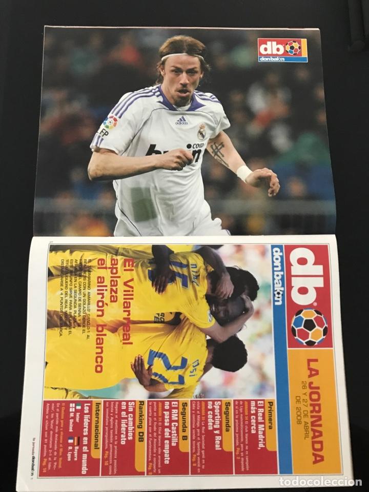 Coleccionismo deportivo: Fútbol don balón 1698 - Poster Guti - Barça Eto'o - Del Bosque - Almeria - San Lorenzo - Arsenal - Foto 2 - 206248216