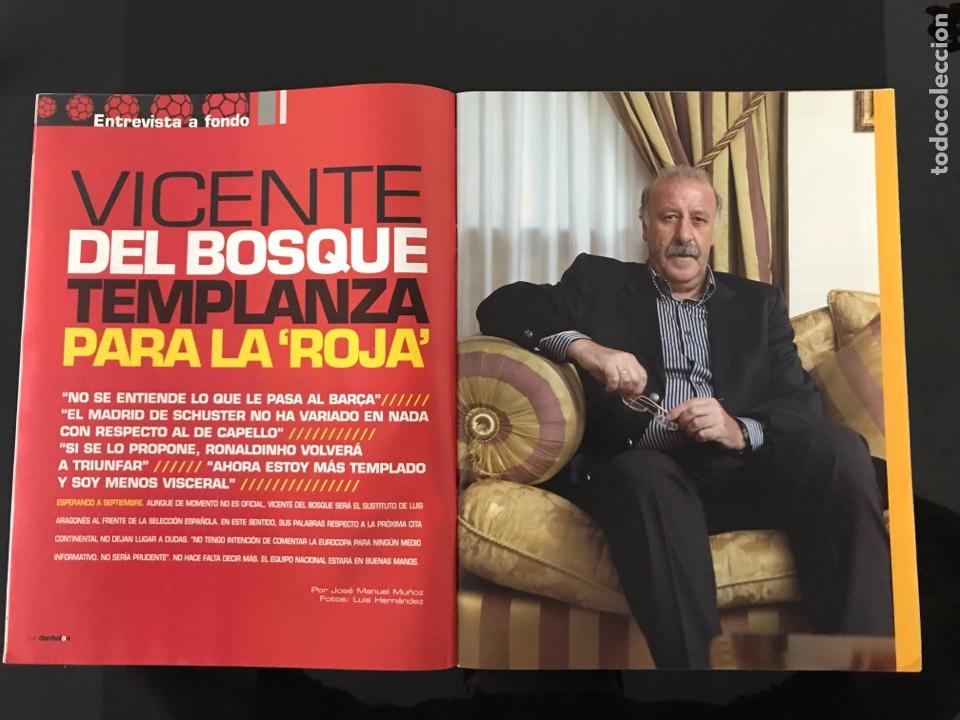 Coleccionismo deportivo: Fútbol don balón 1698 - Poster Guti - Barça Eto'o - Del Bosque - Almeria - San Lorenzo - Arsenal - Foto 3 - 206248216