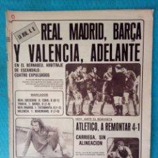 Coleccionismo deportivo: REAL MADRID AS AÑO 1981 EN EL BERNABEU, ARBITRAJE DE ESCÁNDALO : 4 EXPULSADOS. Lote 206248682