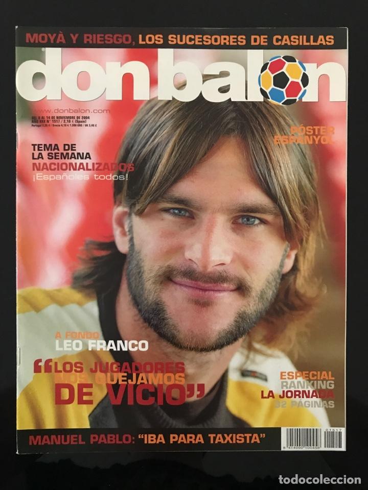 Coleccionismo deportivo: Fútbol don balón 1517 - Poster Espanyol - Atlético - Solari - Damm - Ucrania - Manuel Pablo - Foto 2 - 206249098